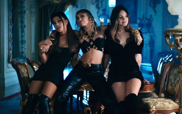 Ariana Grande, Lana Del Rey ve Miley Cyrus Charlie'nin Melekleri için bir araya geldi!