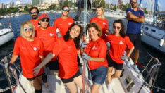 Edenred Türkiye Kadın Yelken Takımı Deniz Kızı Yelken Kupası İkincisi Oldu