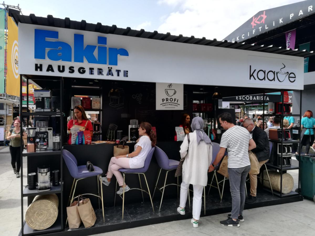 İstanbul Coffee Festival 2019'da Fakir Hausgeräte'ye Büyük İlgi