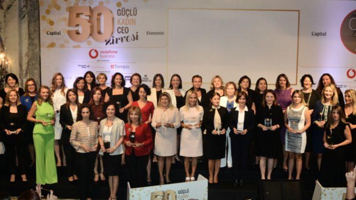 Türkiye'nin en güçlü kadın CEO'ları buluştu