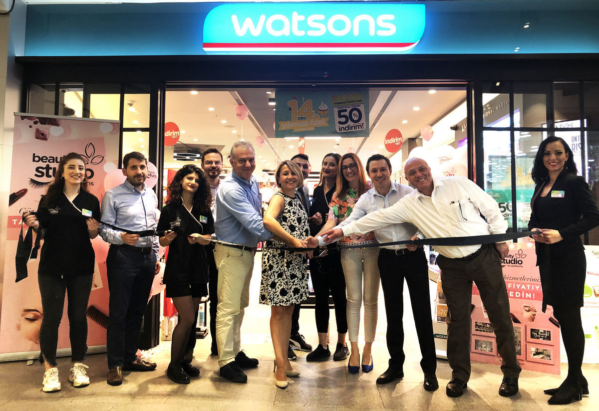 Beauty Studio by Watsons Kanyon'da Açıldı