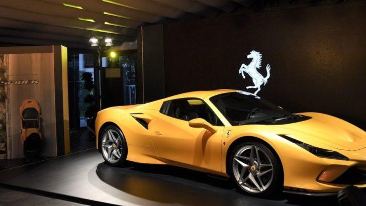 Ferrari F8 Spider 2020'de Türkiye'de!
