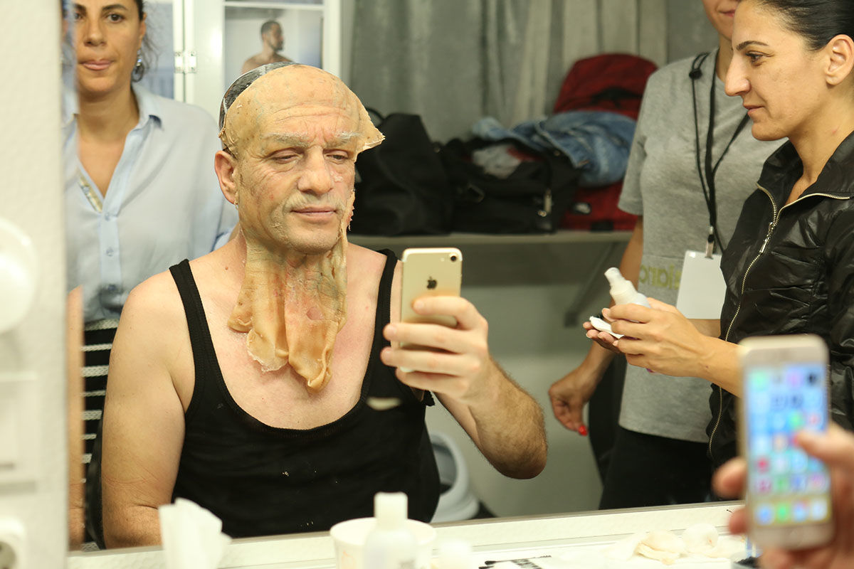 Baba Parası'nda 30 yıl yaşlanan Murat Cemcir'in makyajı büyük ilgi gördü
