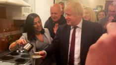 Popçu Eylem'den İngiltere Başbakanı Boris Johnson'a Türk Kahvesi