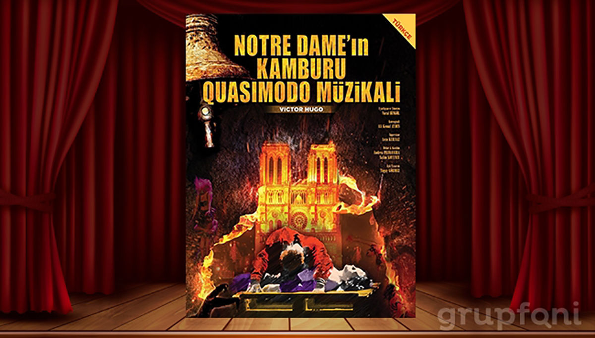 Notre Dame'ın Kamburu Müzikali 3 Ocak'ta Trump Sahne'de