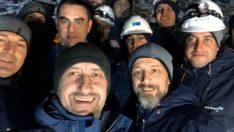 Türk Telekom CEO'su Ümit Önal yeni yıla -15 derecede çalışan ekiplerle girdi