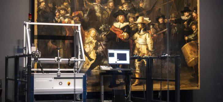 """AkzoNobel ve Rijksmuseum, Rembrant'ın ünlü tablosu """"Gece Devriyesi""""ni restore ediyor"""