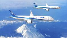 ANA HOLDINGS 20 adet Boeing 787 siparişi ile filosunu genişletiyor