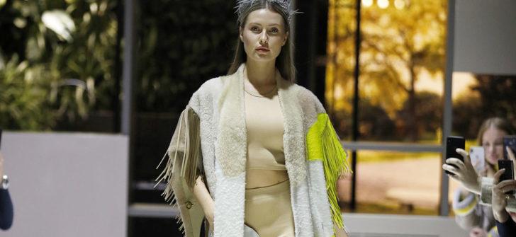 Ünlü Manken Chloe, Vlasta Kopylova'nın Sonbahar Kış Koleksiyonu ile Milano'da göz kamaştırdı