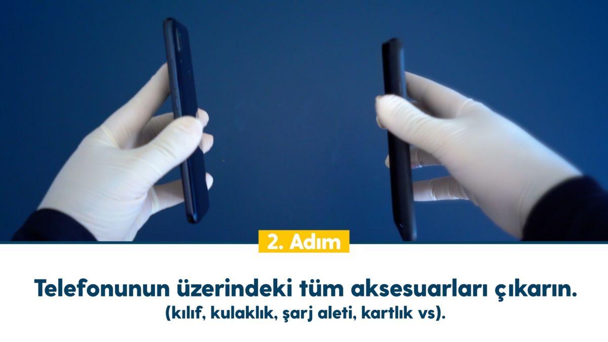 5 adımda cep telefonu ve tablet temizliği