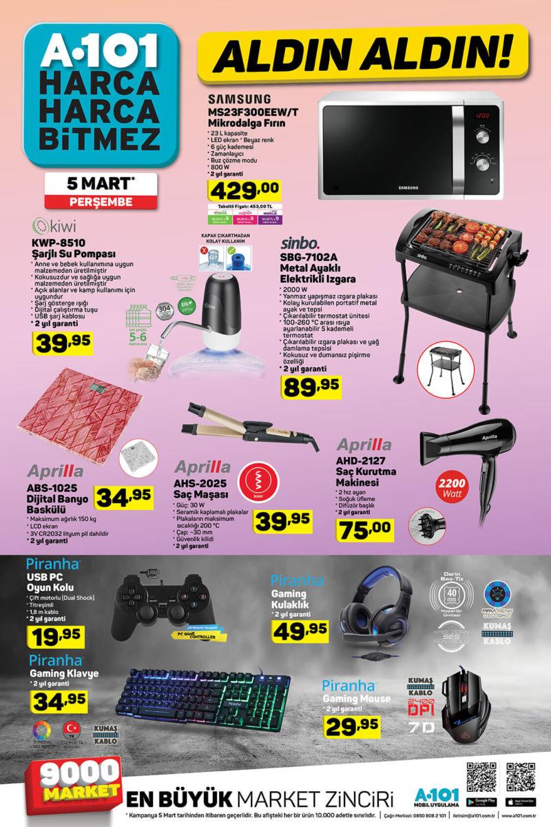 Haftanın teknolojik ürün fırsatları A101 marketlerinde!