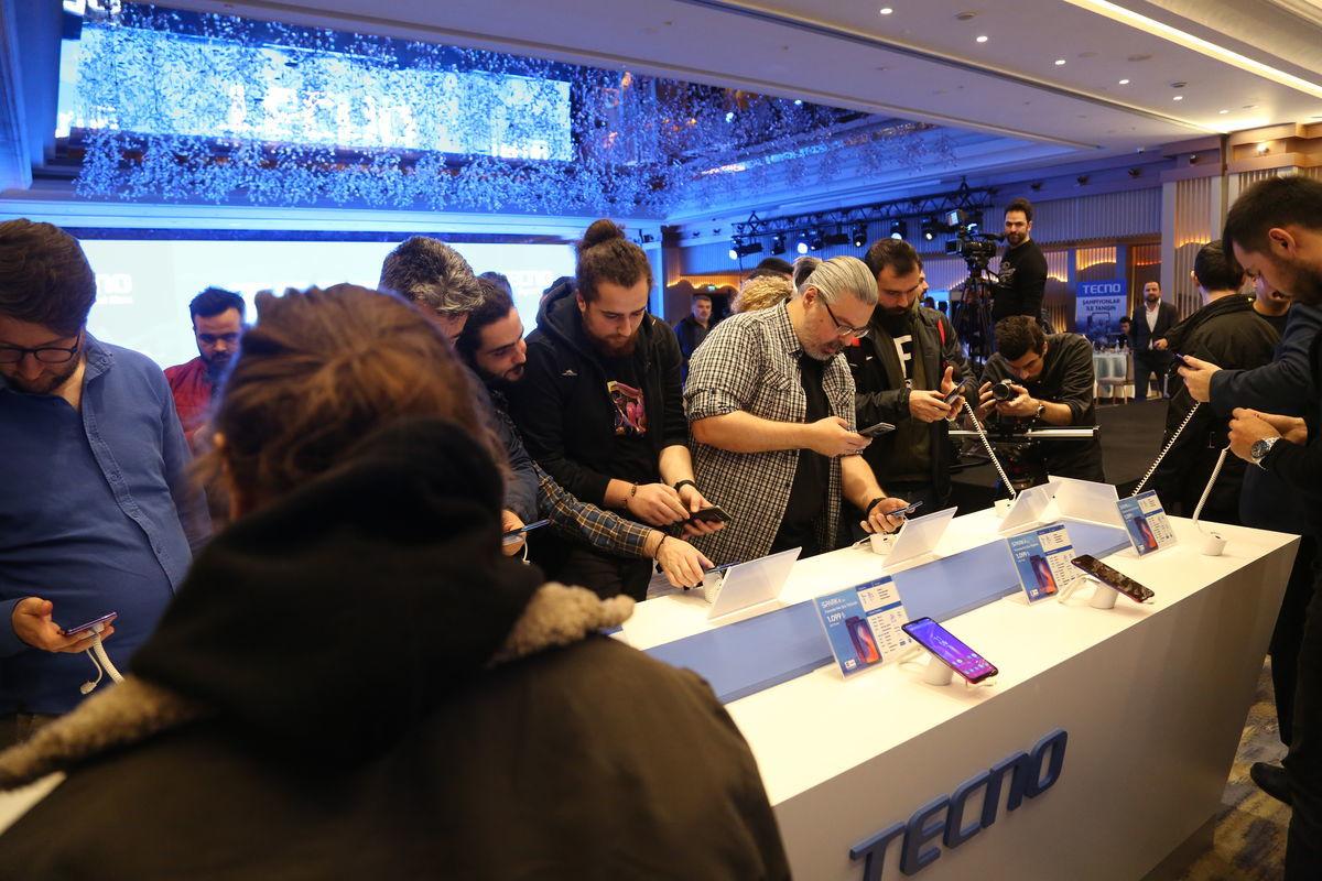 TECNO Mobile Türkiye'de