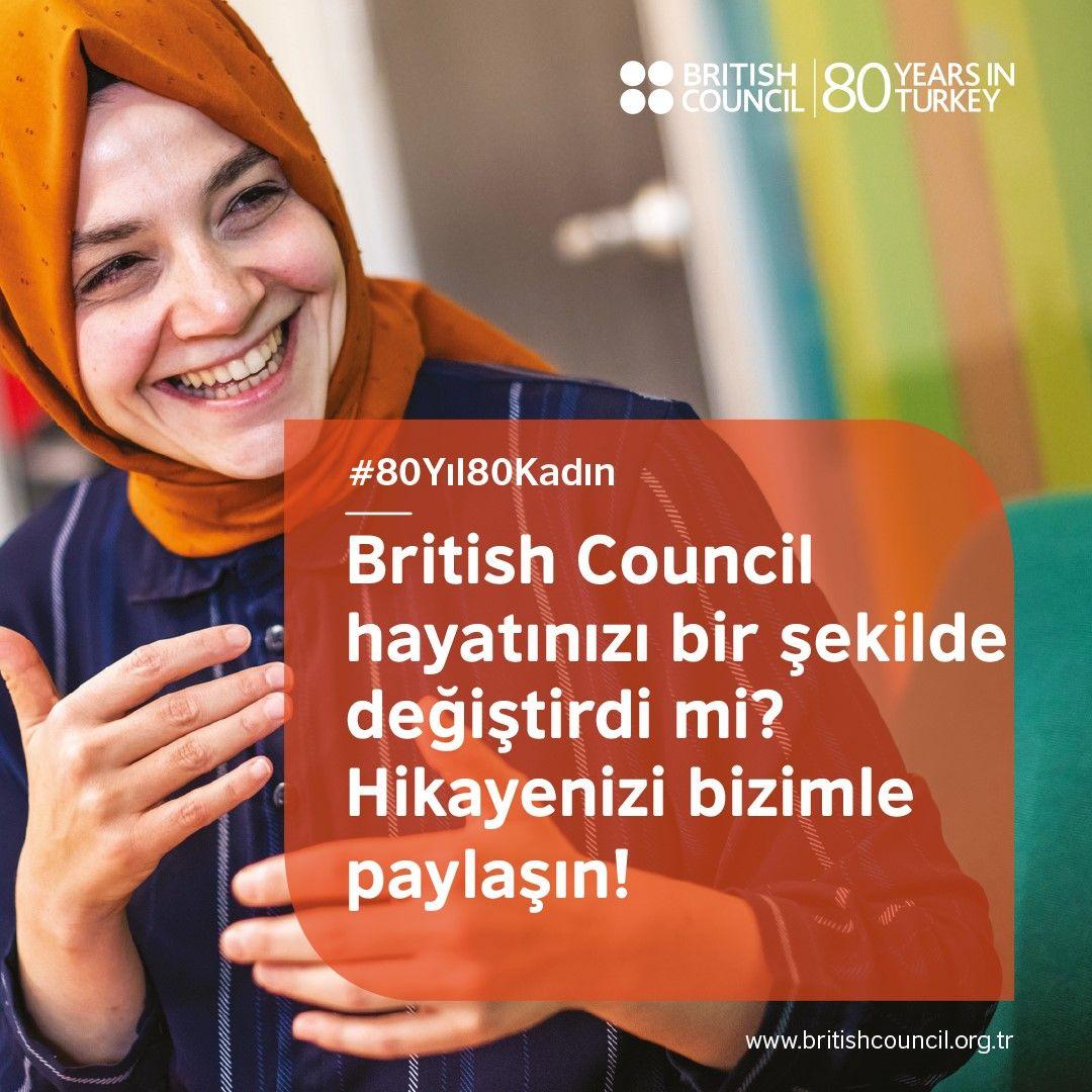 """British Council'dan """"80 Yıl, 80 Kadın, 80 Hikaye"""""""