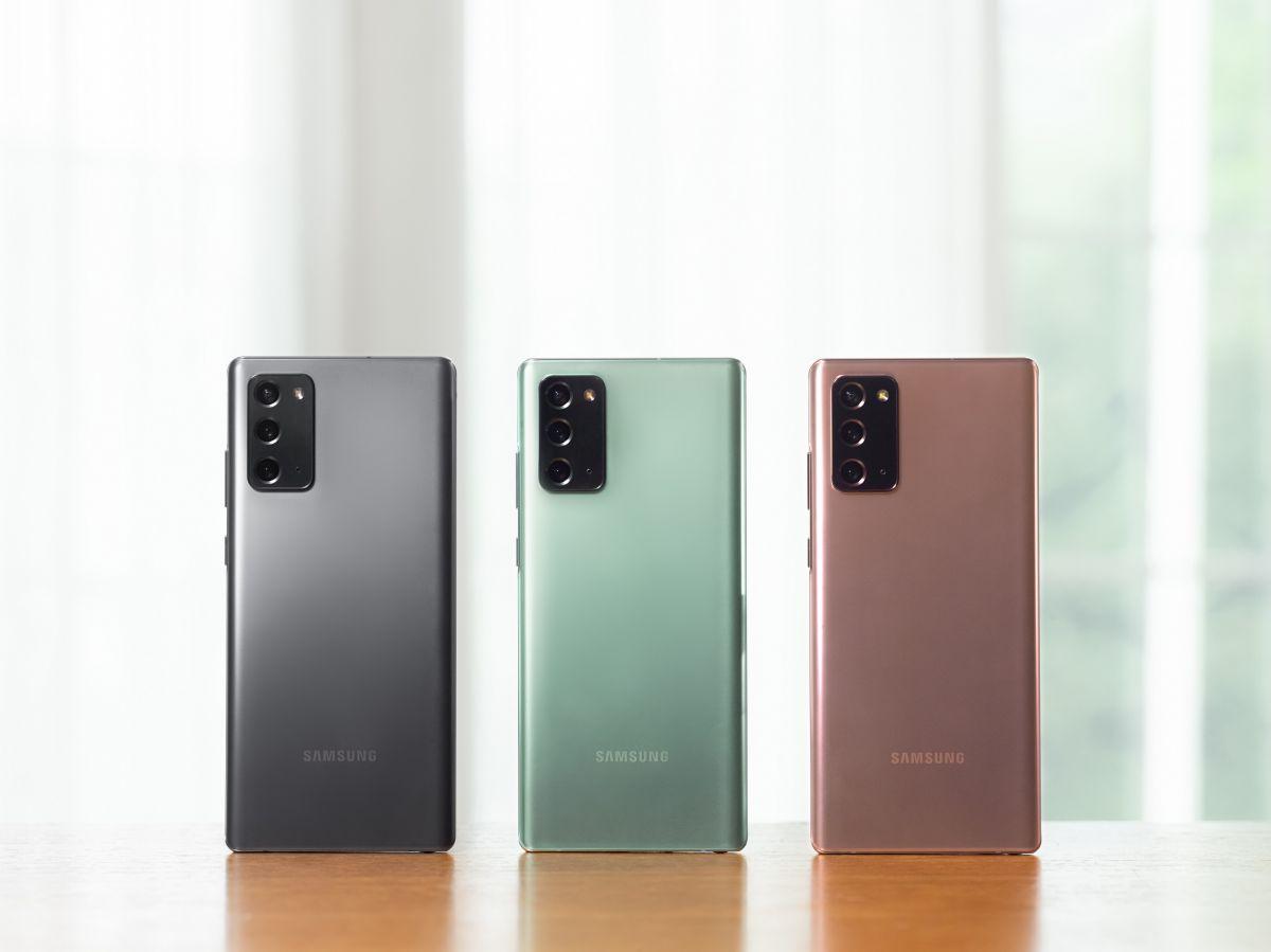 Samsung Galaxy Note20 modelleri ön siparişe açıldı