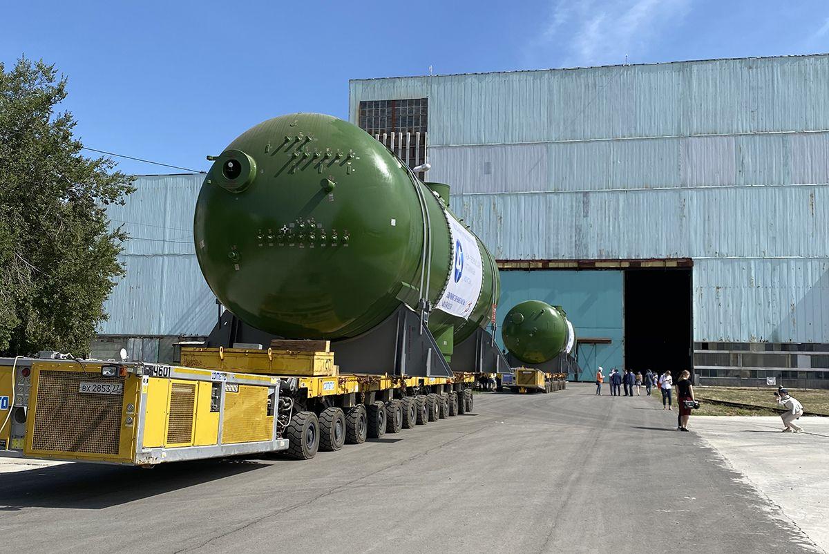Türkiye'nin ilk nükleer santrali Akkuyu NGS'nin buhar jeneratörlerinin sevkiyatına başlandı