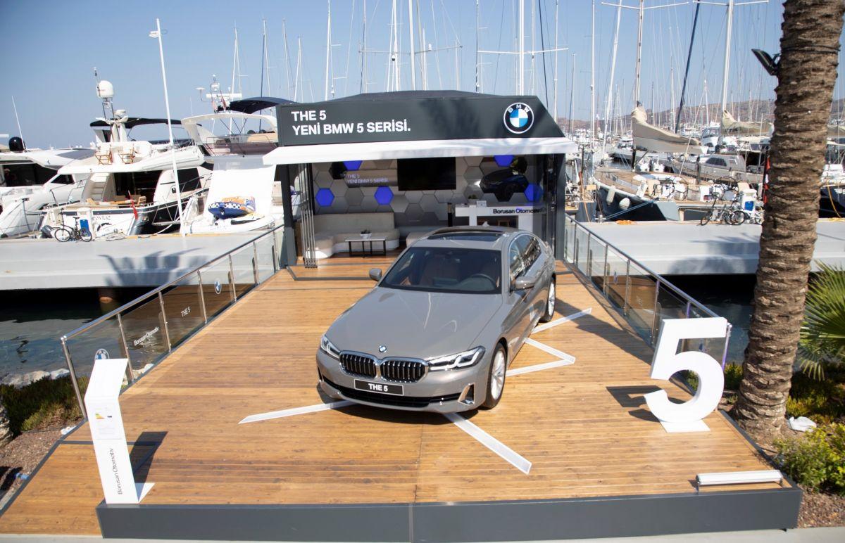 Yeni BMW 5 Serisi Bodrum Yalıkavak Marina'ya Demir Attı