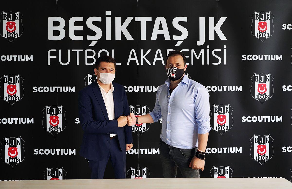 Beşiktaş JK ve Scoutium Yeni Yetenekler için Güçlerini Birleştirdi