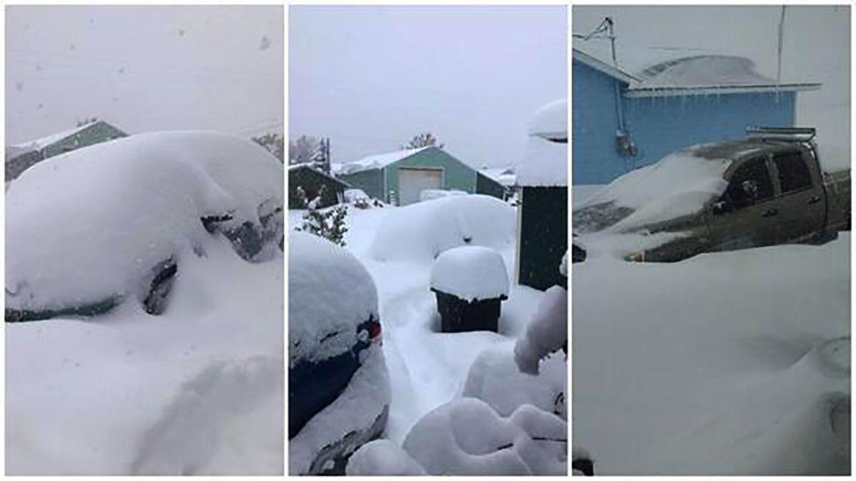 Hava 3 saatte 33 derece soğudu, kar yağışı başladı!
