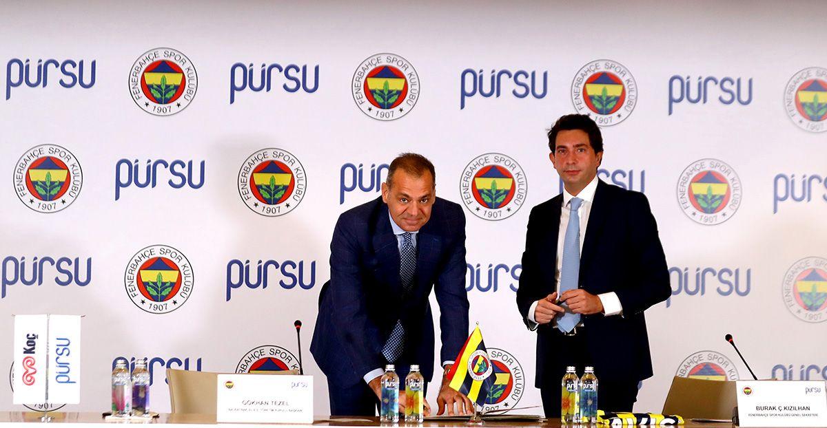 Pürsu, Fenerbahçe Spor Kulübü'nün Resmi Su Tedarikçisi Oldu