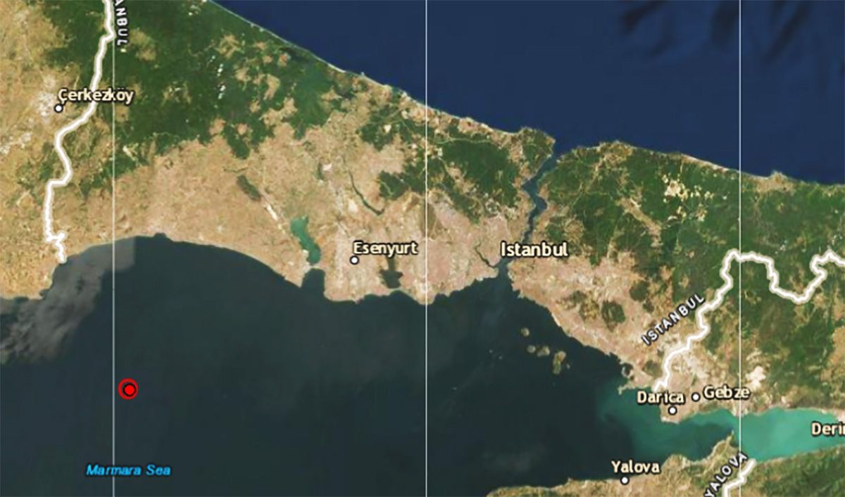 Son dakika! İstanbul'da deprem oldu