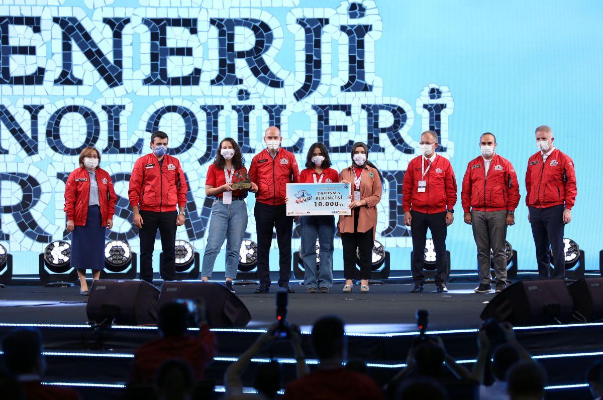 Teknofest 2020 Çevre ve Enerji Teknolojileri Yarışmasında Ödüller Sahiplerini Buldu
