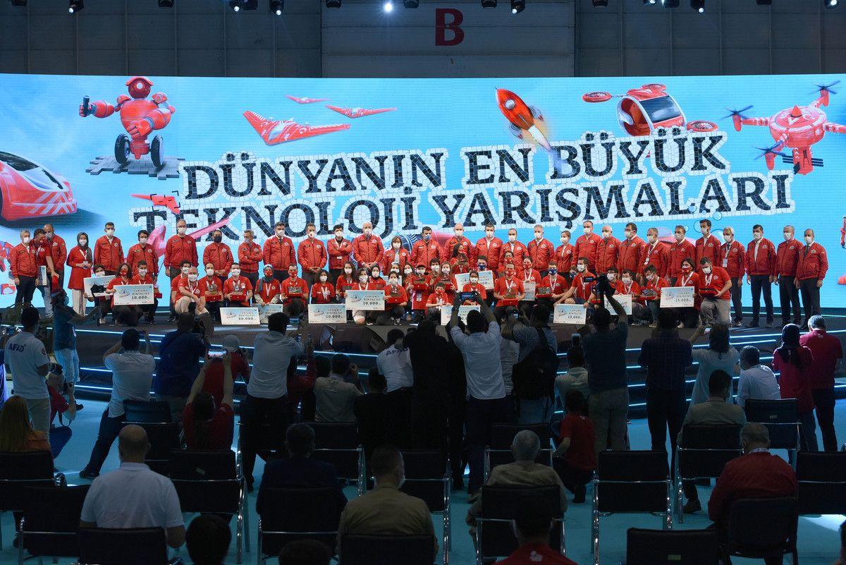TEKNOFEST 2020 Muhteşem Finali ile Sona Erdi