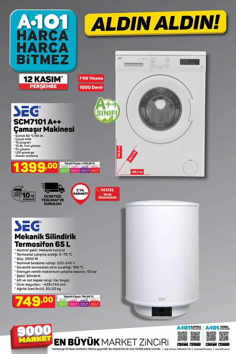 Birbirinden Ucuz ve Kullanışlı Teknolojik Ürünler 12 kasım Haftasında A101'de