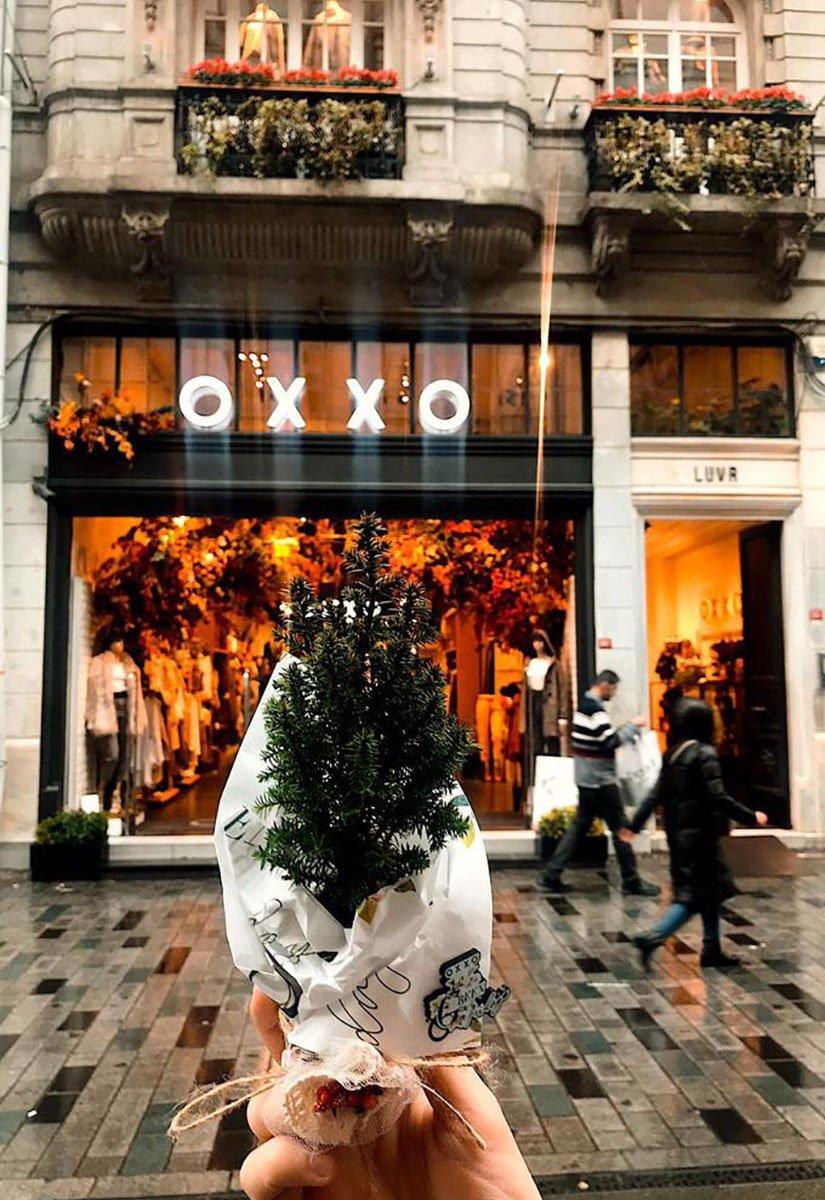 OXXO'dan Kara Cuma'ya Karşı Yeşil Cuma