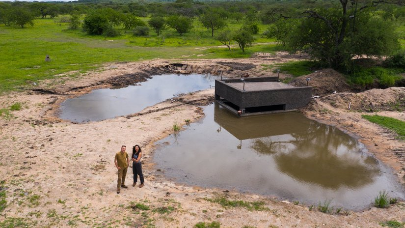 """Bir damla yağmur ile değişen doğal yaşam hikayesi """"Su Birikintisi"""""""