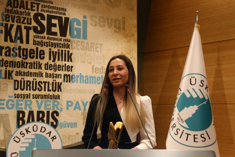AHBAP Derneği İstanbul Şehir Başkanı Buse Vurucu