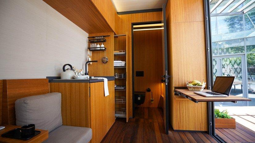 """Dinamik Şehir Hayatına Keyifli Bir Alternatif """"Mobil Ev"""""""