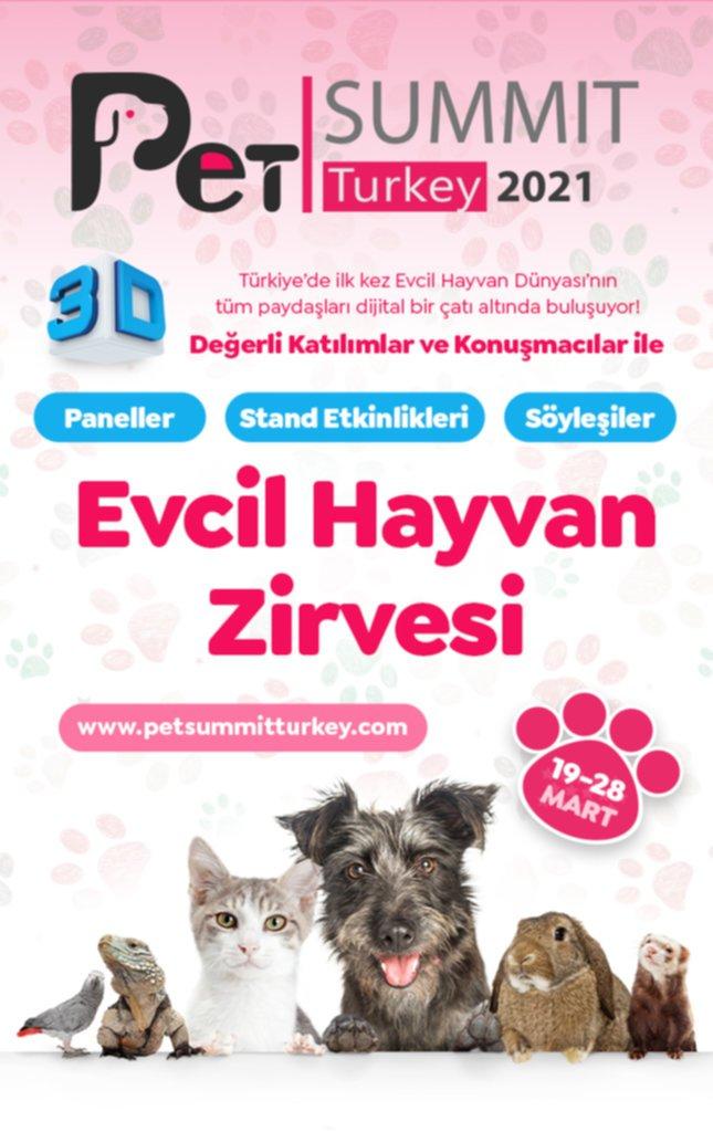 """Evcil Hayvan Zirvesi """"Pet Summit Turkey"""" için Geri Sayım Başladı"""