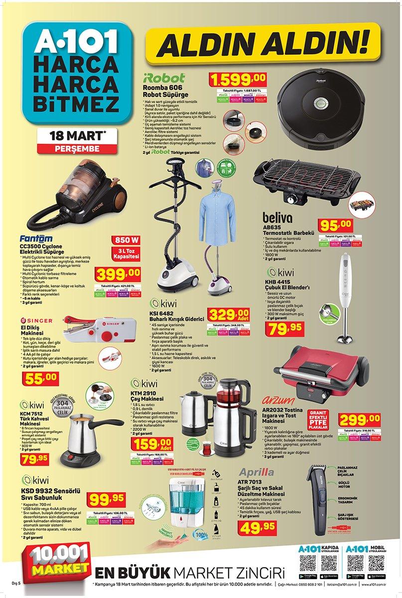 Kaçırılmayacak Teknolojik Ürünler Bu Hafta da A101 Marketlerinde!