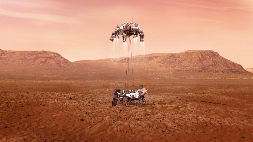 """Mars Keşif Aracı """"Perseverance"""" National Geographic Ekranlarında"""