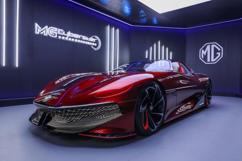 MG'den 800 KM Menzilli Elektrikli Roadster Konsepti!