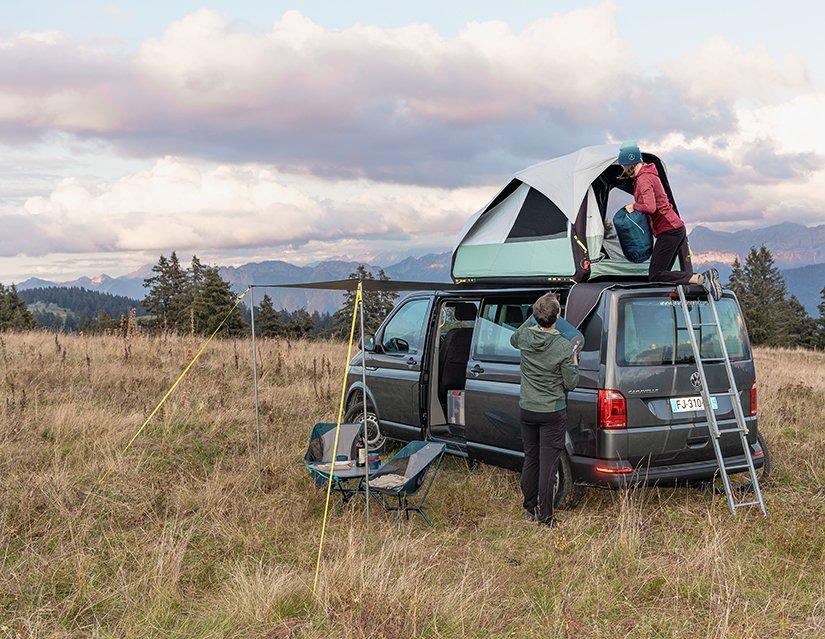 Tatil özgürlüğü sunan araç üstü çadırlar revaçta!