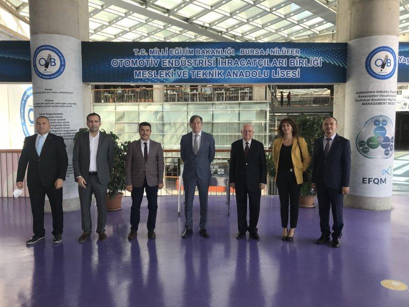 Toyota Türkiye, mesleki teknik eğitime destek olmaya devam ediyor