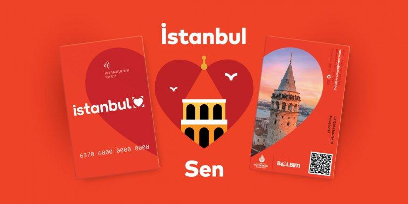 """İstanbulkart'ın ulaşım kartından şehir ve yaşam kartına dönüşümü """"İstanbul seni seviyor!"""""""