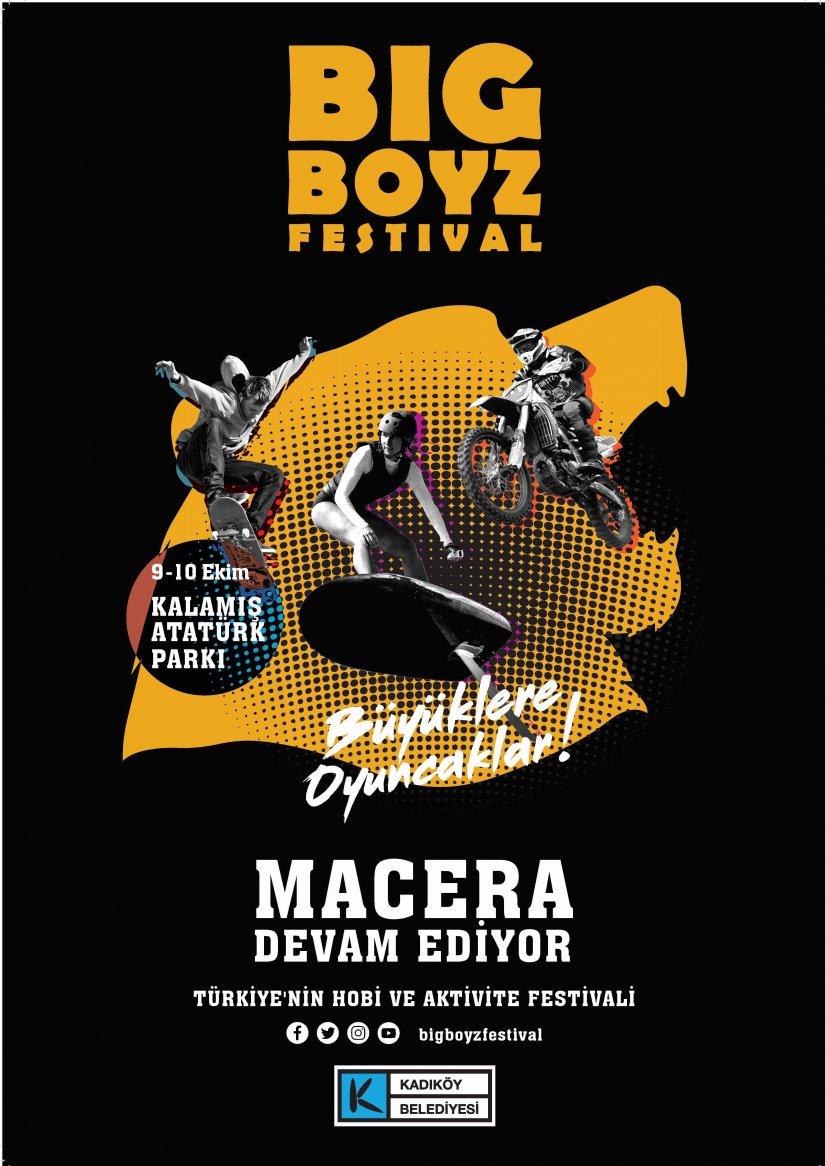 Macera ve adrenalin tutkunları Big Boyz Festival için geri sayıma başladı!